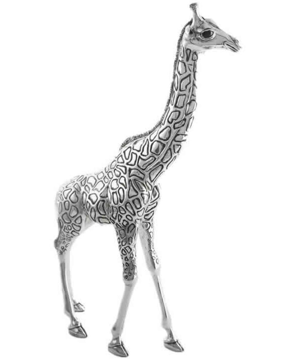 Escultura D\'Argenta Jirafa 7507